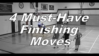 4 Must-Have Finishing Moves For Basketball