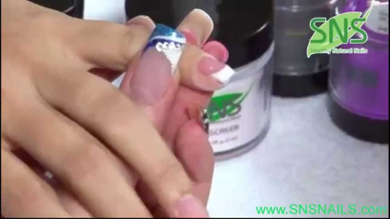 Sns Nails Design - www.snsnails.com - YouTube