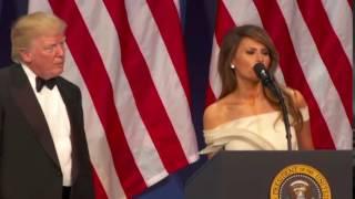 Melania Trump pushed Donald Trump