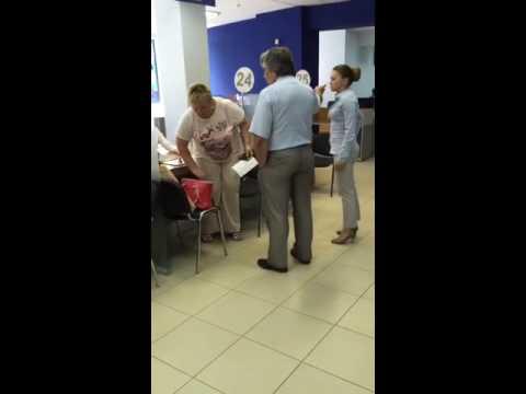 Клиентка устроила скандал в тульском офисе ВТБ 24