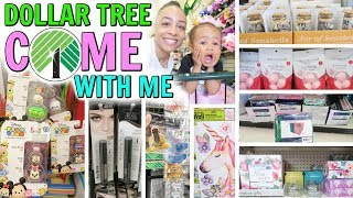 COME WITH ME TO DOLLAR TREE! MORE UNBELIEVABLE NEW FINDS SO MUCH NEW!