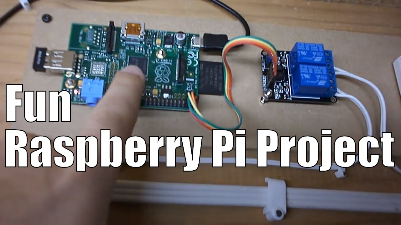 small resolution of easy raspberry pi garage door remote over wifi home automation youtube
