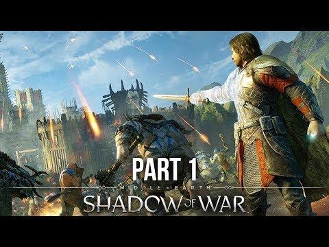 Shadow of War Gameplay Walkthrough Part 1 (Preview) MY GAME OF GAMESCOM ??