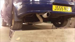 Works group A subaru impreza replica exhaust pipe anti lag