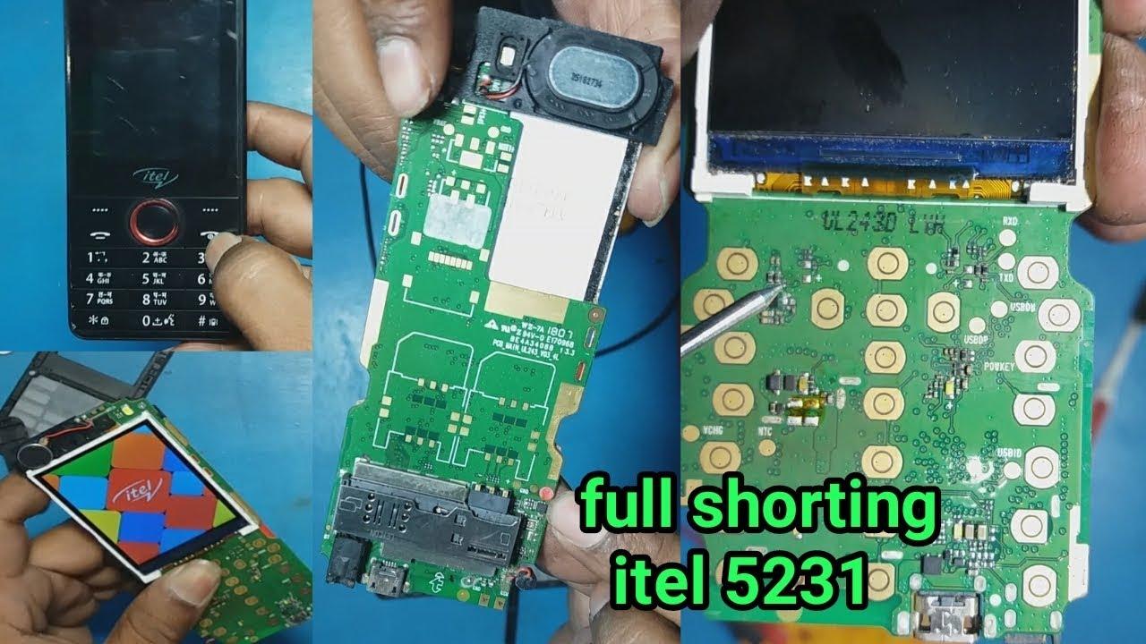 itel 5231 dead solution || full short mobile repair
