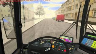 OMSI 2 The Bus Simulator - MAN NG272 Winter Gameplay HD