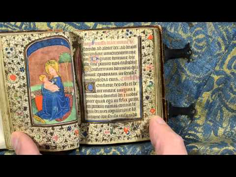 Petit livre d'heures ganto-brugeois, circa 1450.