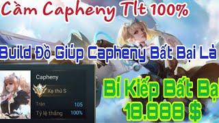 Vào Khoe Capheny Tĩ Lệ 100% Win Cả Team Trầm Trồ Và Bí Kiếp Giúp Tướng Này Bất Bại Trong Rank ?