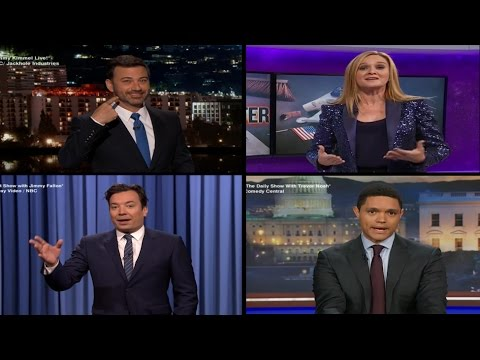 Thumbnail: Late Night Hosts React to Donald Trump's Win