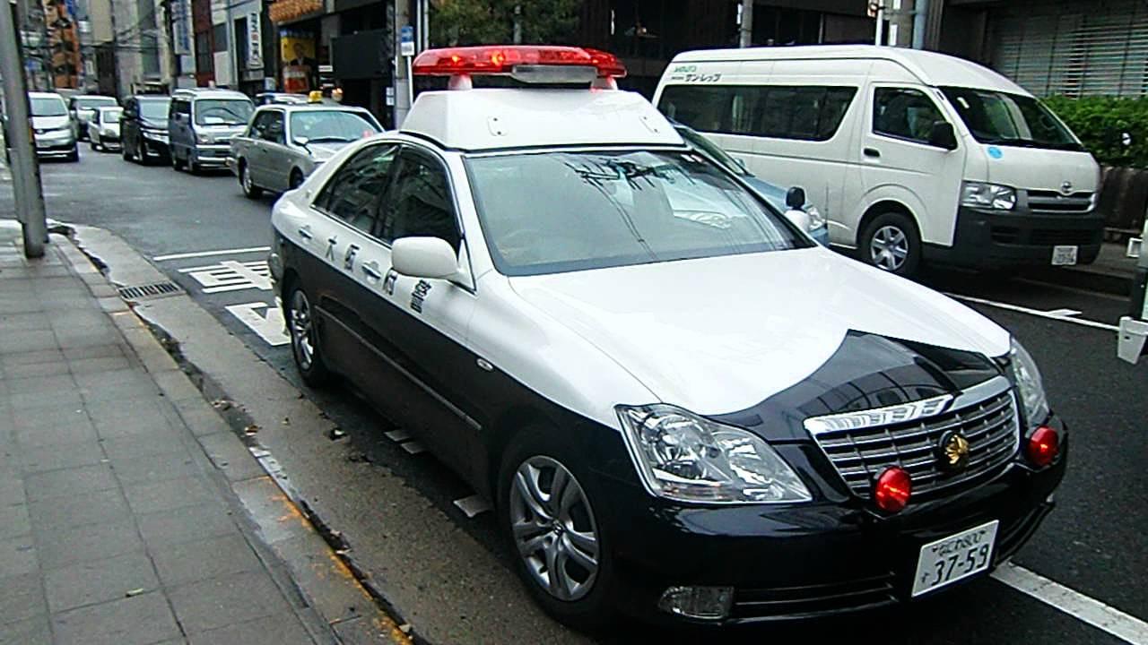 Asian police car