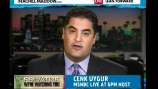 Cenk on The Rachel Maddow Show - GOP Privatizing Social Security?
