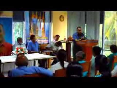 Ajith Prasanna 2014  ( Major Janaral Zoyza - Navy Comender Daya Sadagiri in Bentota)