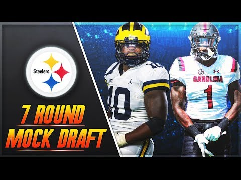 Steelers Draft Antonio Brown + Ryan Shazier Replacements | Pittsburgh Steelers 7 Round Mock Draft