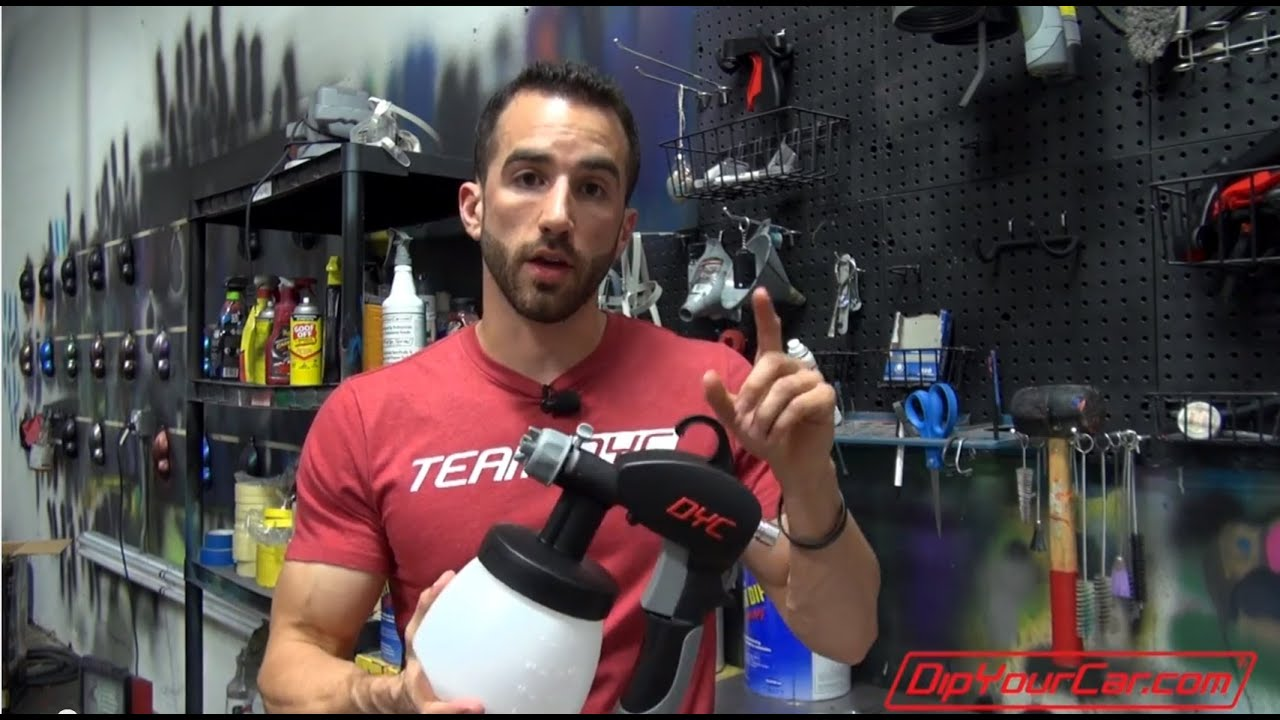 Cleaning and Troubleshooting Earlex DYC Spray Guns