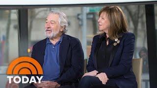 Robert De Niro Talks Tribeca Film Festival And 'Godfather' Reunion | TODAY