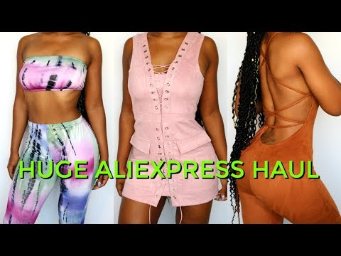 I Spent $320 on AliExpress Clothes    Huge AliExpress Try-on Haul Summer 2017   Jazz Nicole