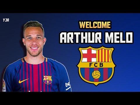 Arthur Melo ► Welcome to Fc Barcelona ● Elit Skills & Goals   2018 HD