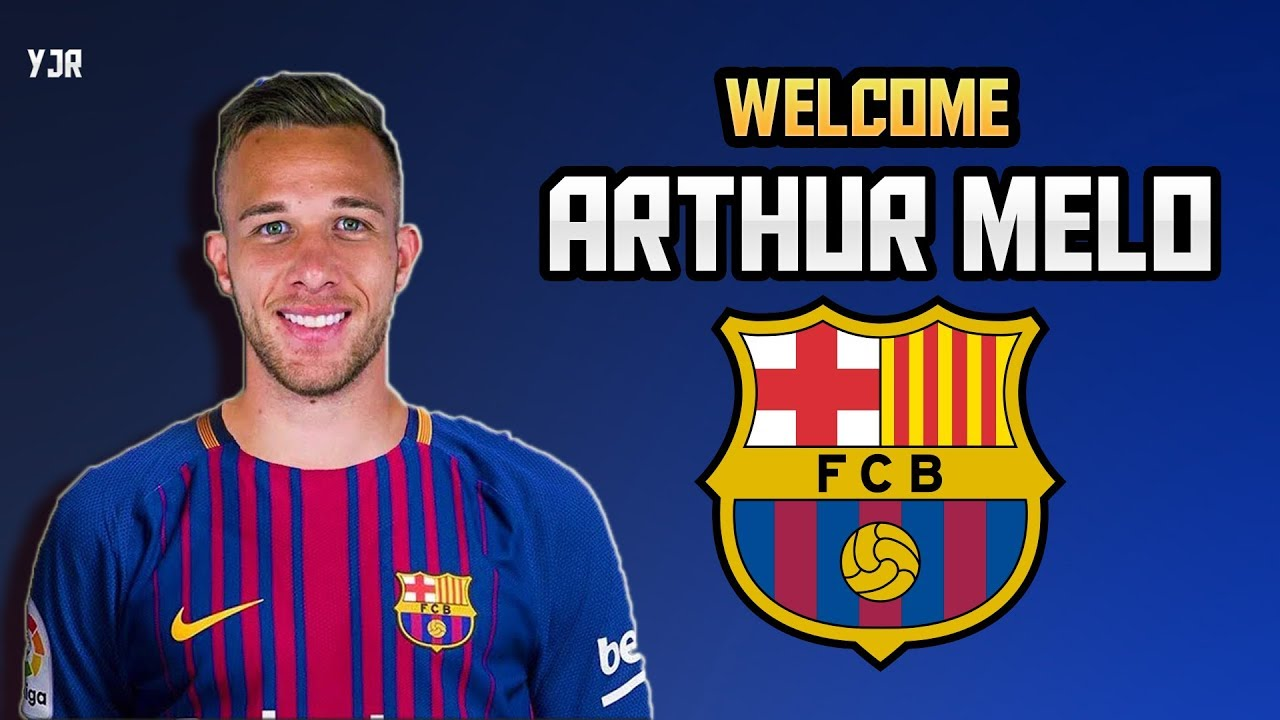 0ac28b144 Arthur Melo ▻ Welcome to Fc Barcelona ○ Elit Skills   Goals