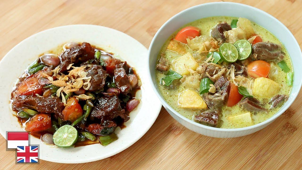 Resep SOTO BETAWI Kuah & Oseng! [Versi Praktis]