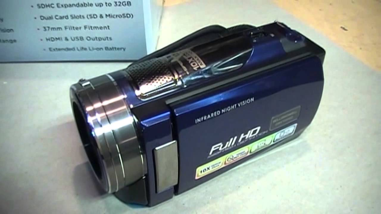 Bell & Howell DNV16HDZ night vision camcorder review & test