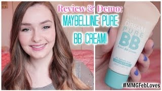 Review & Demo: Maybelline Pure BB Cream! (+Salicylic Acid) | #MMGFebLoves