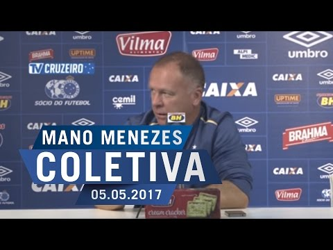 05/05/2017 - Coletiva Téc. Mano Menezes