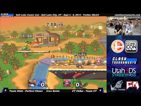 Salt Lake Comic Con - Utah vs CLASH Tournaments - Project M Crew Battle