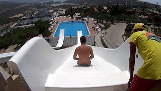 Slide & Fly Water Slide at Adaland