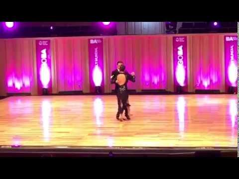 Edwin Olarte y Vittoria Franchina MUNDIAL DE TANGO 2019