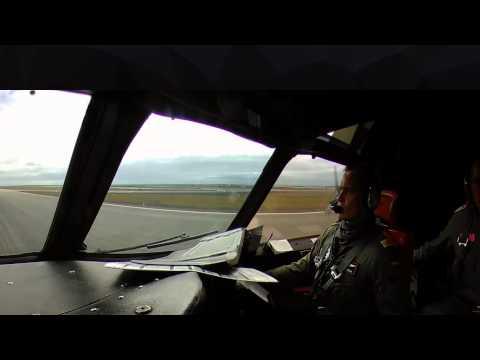 Landing aboard a German Navy P3C