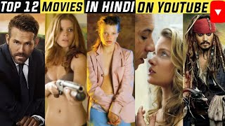 Top 12 Hollywood Movies dubbed in Hindi available on Youtube