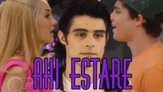 """Ahi Estare"" Ludmila & Maxi (Letra)"