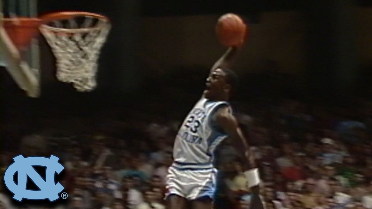 Michael Jordan UNC Highlights Narrated By Dean Smith