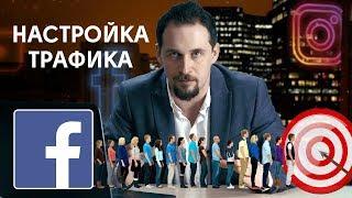 Пример настройки таргетированной рекламы на Facebook. Цель трафик. Урок 6