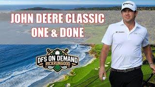 John Deere Classic One & Done 2019