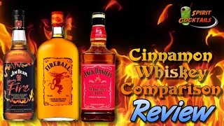 Cinnamon Whiskey Comparison Review