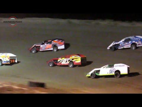 Desert Thunder Raceway IMCA Modified Heat Races 9/28/18