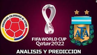 Colombia🇨🇴 vs 🇦🇷Argentina - Eliminatorias Qatar 2022 | Análisis y Predicción 🔎