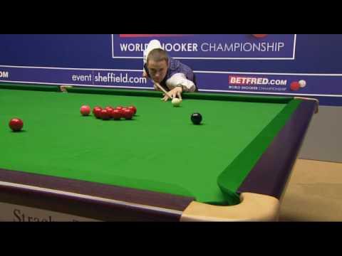 S. Hendry 147 Snooker World Championship 2009 Part 1