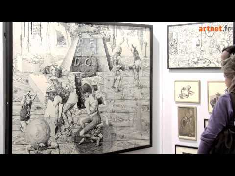Drawing now paris le salon du dessin contemporain 2011 youtube - Salon dessin contemporain ...