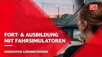 Realitätsnahes Training für Eisenbahnfahrzeugführer im Fahrsimulator von DB Training