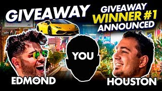 ONE OF YOU LUCKY SUBSCRIBERS WINS A GIVEAWAY OF A LIFETIME