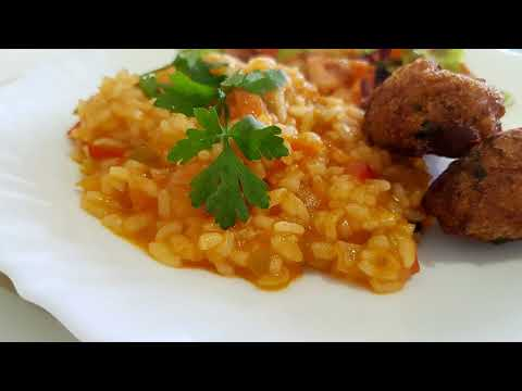 TOMATO RICE - PORTUGUESE RECIPE // Cooking With Spices