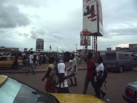 Traffic in Monrovia, Liberia