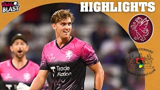 90 off 36 for Lammonby!   Somerset v Gloucestershire - Highlights   Vitality Blast 2021