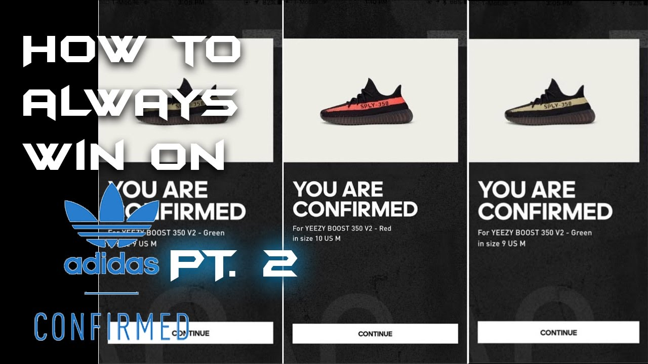 HOW TO JIGHACK ADIDAS CONFIRMED APP!!! (COOK ON ANY RELEASE!)