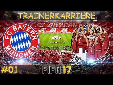 Fifa 17 - Start meiner Trainerkarriere - FC Bayern München