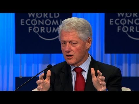 Davos Annual Meeting 2011 - William J. Clinton