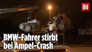 Ein 36-jähriger mann kam in der nacht zu donnerstag berlin-biesdorf bei einem verkehrsunfall ums leben.#unfall #ampel #berlin-----------------------------...