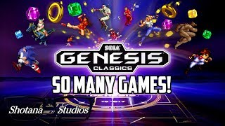 Every Game in Sega Genesis Classics! | Gameplay and Mini Reviews | Shotana Studios